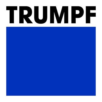 TrumpfLogo Monitor RGB framed