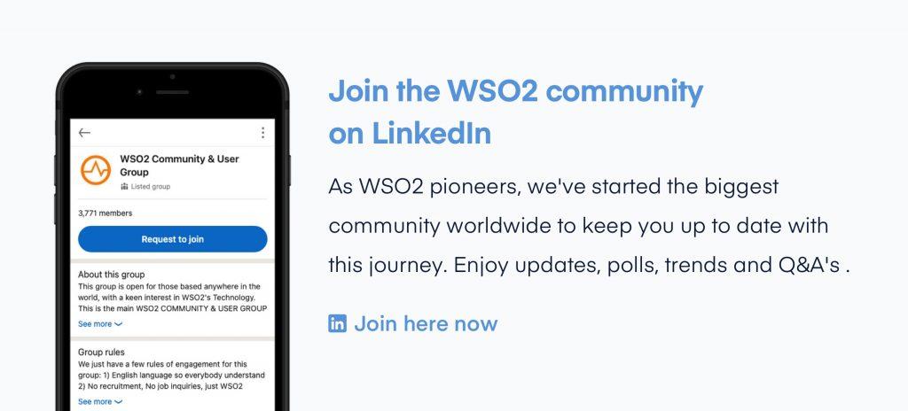 Banner WSO2 Community 1 5