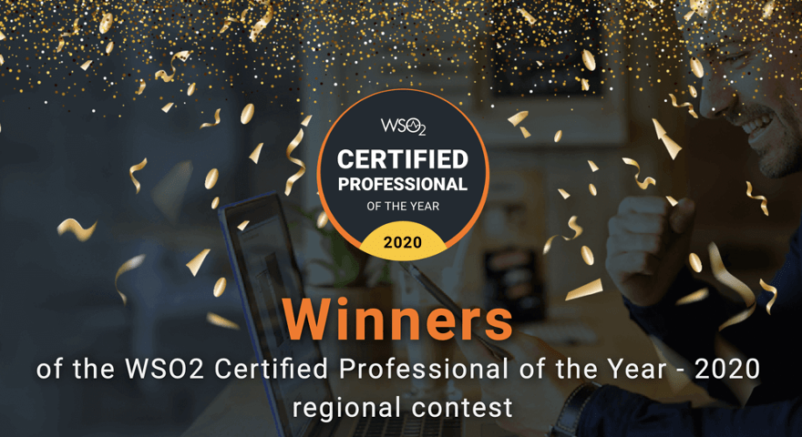 WSO2 Certified Professional of the Year Yenlo