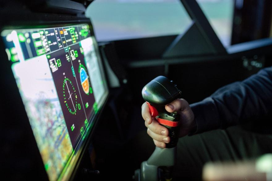 Podcast Flight Simulator