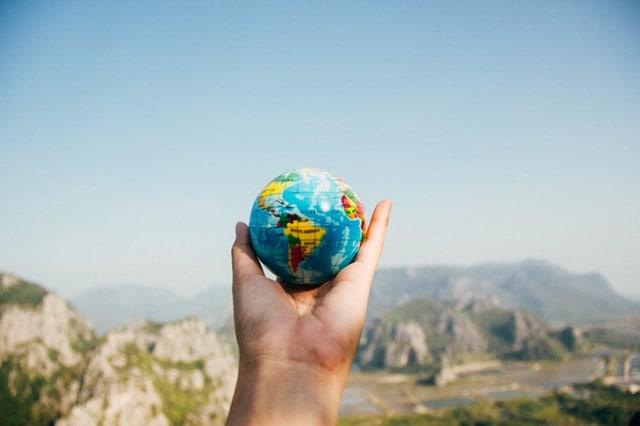 Globe world Machine Learning Artificial Intelligence