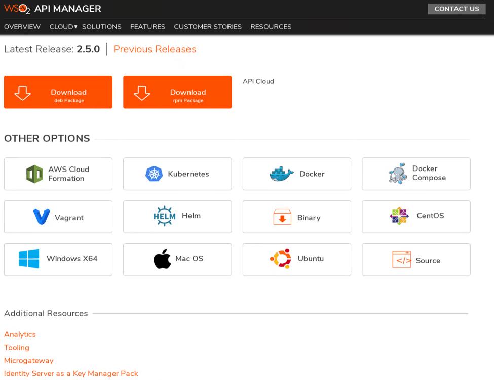 WSO2APIManager2.5.0