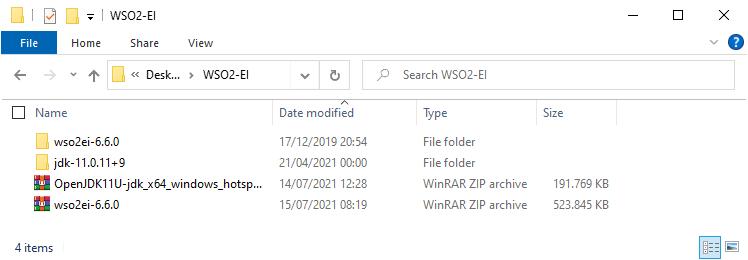 WSO2 Enterprise Integrator Windows 3